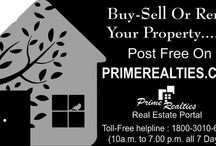 website to visit / #RealEstate #Property #India primerealties.com  Buy-Sell-Rent Property all over India for free. Visit primerealties.com