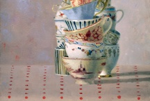 Cups in ART / Tea and coffee cups paintings