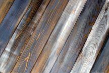 warna kayu..pudar