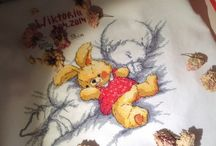 Sweet Embroidering / Cross Embroidering, schemes, national decorations