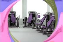 Sensualidad en el fitness / Fascinación de equipamiento para salas de entrenamiento con armonía,belleza,sensualidad y confort.