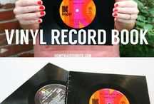 Vinyl records craft