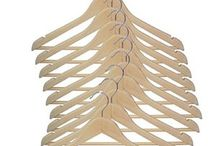 Wooden Hangers / Hang your garments in style with the Quality wooden coat hangers. They add extra elegance to your wardrobe improving the appearance when you on search for that favorite top. http://goo.gl/SDWRho