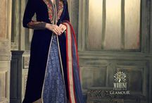 Indian Salwar Suits / A salwar kameez is one of the oldest traditions of India and a favourite of Indian women across states ...