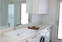 bathroom in laundry