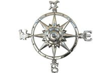 Coastal Style Compasses