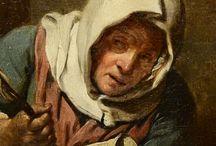 GREUZE Jean-Baptiste - Détails / Details of painting :  - La Lecture de la Bible +++ MORE PICTURES OF DETAILS : https://www.flickr.com/photos/144232185@N03/collections