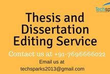 Thesis editing
