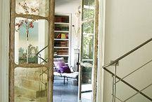 Doors/knobs/walls/windows/gates/ceilings & tiles