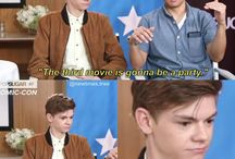 maze runner/Thomas Brodie Sangster