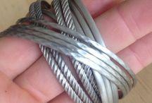 Bangles - Bracelets - Vintage - Handmade / https://www.etsy.com/au/shop/AWomansCharm?section_id=18827692&ref=shopsection_leftnav_3