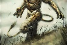 Fantasy creatures & monsters