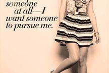 I JUST LOVE THAT / Fina personer å sånt