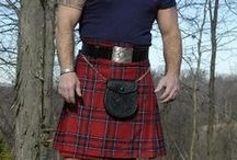 Men in Kilts / There's just something about a manly man in a kilt...
