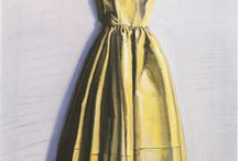 Dress paintings