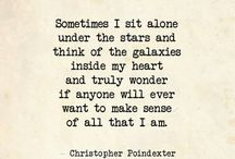 Christopher Poindexter / Heavenly, beautiful, words