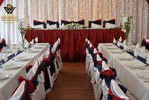 Francia esküvői dekoráció