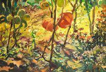 Anna Sztucka  - Oil paintings / Obrazy z natury, przyroda, obrazy olejne