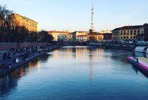 Milan / Secret plane in a little city