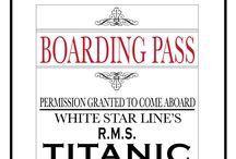 Titanic dinner party ideas / by Teresa Ran