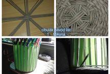 Mirka-Mikyna  moje návody pletení z papíru / moje postupy a návody pletení z papíru