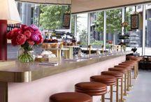 Restaurants, bars, cafes, hotels