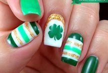 Saint Patrick's day / Nail Art / by Amy Blair