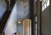Architectuur, interieur en tuin