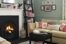Living Area Inspiration / by Ingrid Stassi
