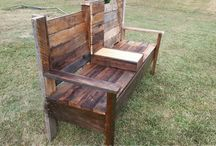 Pallet Benches / Pallets Ideas, Designs, DIY, Recycled, Upcycled Pallet Plans And Projects.