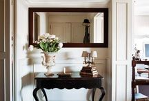 entrance decor console