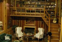 Dollhouse Library/Study/Den / Decorating and accessorizing these important rooms of the dollhouse / by Ann Johnston