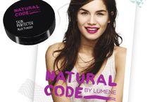 Lumene Natural Code / Ihonhoitotuotteet ja meikit nuorelle iholle