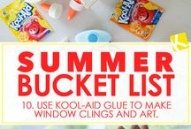 Kid Summer bucket list