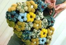 horgolt táskák, lábszarvédök - crochet bags and leg warmers