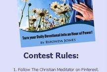 The Christian Meditator Contests and Specials / Looking for Christian Meditation contests and specials. You've come to the right place. #datewithgod #christianmeditationcontest