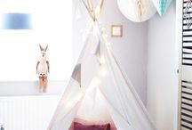 Kids Room / Deco of bedrooms, play and reading space / by La Infantia