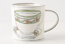 Tea Pots + Cups / by Ashley Bailey