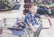"""Shopping with Multiples & Twins / """"I love grocery shopping with my twins or 3 kids."""" Said No. Mom. Ever. And then there was Binxy Baby (binxybaby.com)"""