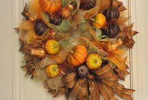 Fall Crafts/wreaths