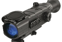 Night Vision Rifle Scopes  / Pulsar Riflescope Digisight N550 (without IR Flashlight) Digital NV Riflescope (PL76316) / by Outdoors Bay LLC