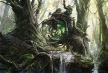 Landscape Art of Awesome / by Raederle Phoenix