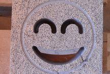 aeratori in marmo / aeratori realizzati in marmo bocciardato utilizzando gli smile
