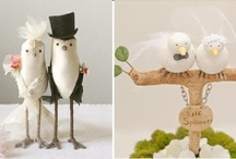 Wedding Cake Toppers Inspiration / by Little Pink Book Wedding Planner ♥