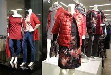 VETRINA TANTE IDEE negozio abbigliamento MARANELLO MO / ABITI . BORSE, ACCESSORI