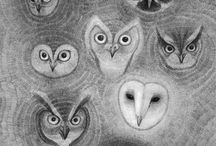 Owls and a Squirrel or two / by Brenda Wegner