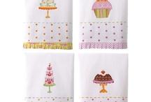 Tea Towels & Aprons / Show your style in the kitchen #tea_towel, #towel, #kitchen, #design, #art