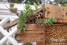 Hoteles de insectos / Cajas de fauna auxiliar