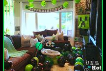 Marble/Minecraft party ideas