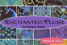 "Plume by Timeless Treasures / ""Enchanted Plume"" by Chong-a Hwang for Timeless Treasures Fabrics"